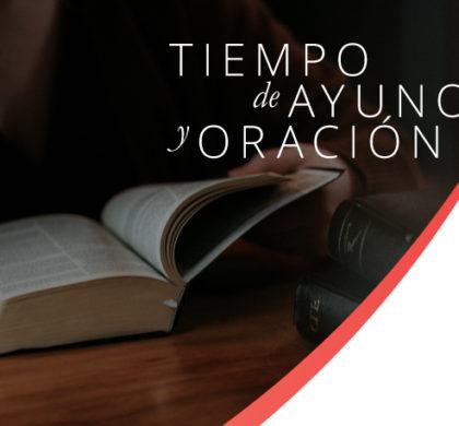Tiempo de ayuno y oración – Propuesta semanal para el 14 de julio